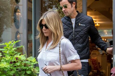 Jennifer Aniston, au coeur d'une folle rumeur, réapparaît avec Justin Theroux