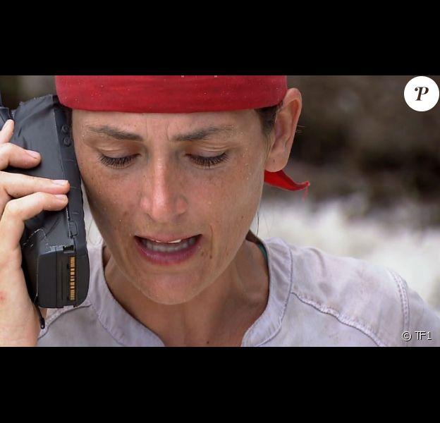 """Julie - """"Koh-Lanta, L'île au trésor"""", sur TF1. Le 30 septembre 2016."""