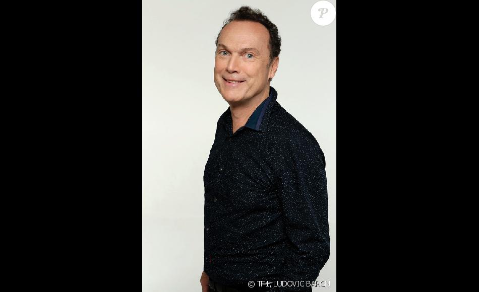 """Julien Lepers au casting de """"Danse avec les stars 7"""", sur TF1."""