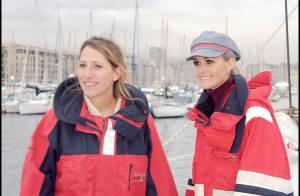 REPORTAGE PHOTOS EXCLUSIF : Laeticia Hallyday et Maud Fontenoy... deux femmes à la mer !