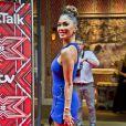 """Nicole Scherzinger lors du photocall de lancement de la nouvelle saison de l'émission """"X-Factor"""" à l'hôtel Ham Yard à Londres. Le 25 août 2016"""