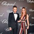 Cheryl Cole et son compagnon Liam Payne - Photocall de la soirée des Trophées Chopard à l'hôtel Martinez lors du 69ème Festival International du Film de Cannes. Le 12 mai 2016