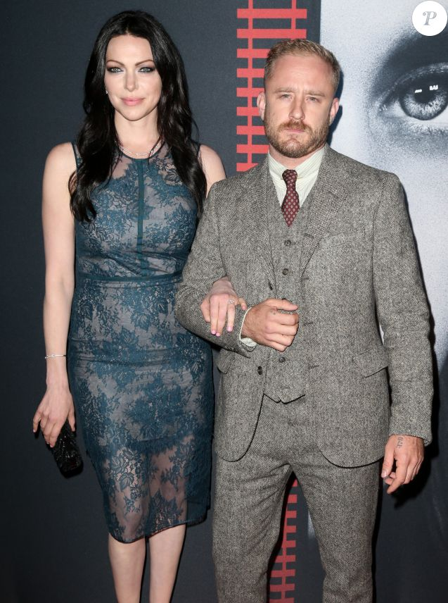 Laura Prepon et son compagnon Ben Foster à la soirée 'The Girl On The Train à New York, le 4 octobre 2016  Celebrities attend 'The Girl On The Train' premiere in New York City, New York on October 4, 2016.04/10/2016 - New York