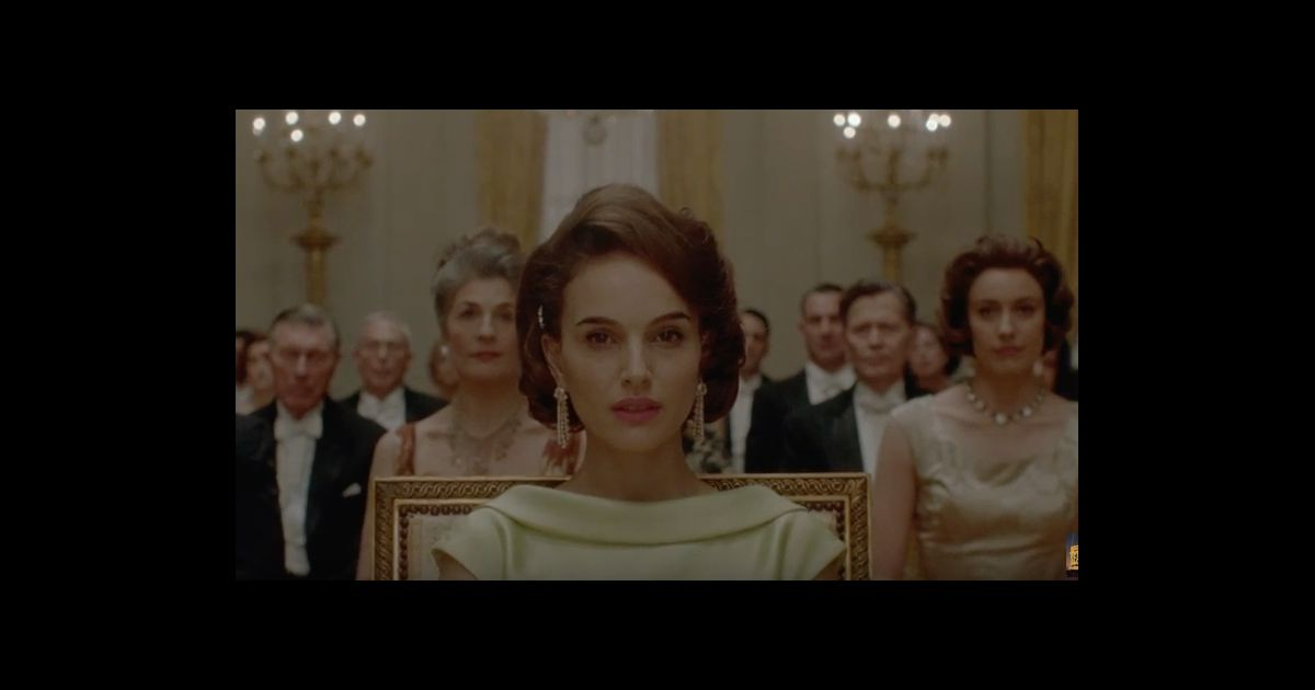 natalie portman est jackie puissant trailer du biopic pr t pour les oscars purepeople. Black Bedroom Furniture Sets. Home Design Ideas