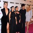 Khloé, Kourtney, Kim Kardashian, Kris et Kylie Jenner à West Hollywood, le 12 octobre 2015.
