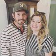 Kelly Clarkson avec son mari Brandon Blackstock.