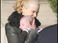 PHOTOS : Nicole Kidman, tendre balade avec sa fille et son mari à Paris...