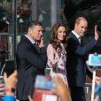 Le prince William, Kate Middleton et le prince Harry ont pris part à des rencontres au County Hall de Londres et au London Eye dans le cadre de la Journée mondiale de la santé mentale le 10 octobre 2016.