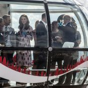 Kate Middleton, William et Harry : En haut du London Eye, une promenade de santé