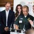 Le duc et la duchesse de Cambridge le 10 octobre 2016 à Londres lors de rencontres dans le cadre de la Journée mondiale de la santé mentale. © Doug Peters/PA Wire/ABACAPRESS.COM
