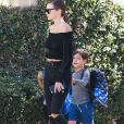 Exclusif - Miranda Kerr fait du shopping avec son fils Flynn Bloom à Los Angeles, le 28 septembre 2016