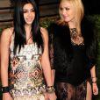 Madonna et sa fille Lourdes à la soirée Vanity Fair organisée après les OScars à Los Angeles le 27 février 2011.