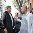 Kanye West et Jay-Z à New York City, le 22 avril 2013