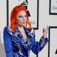 Lady Gaga - La 58ème soirée annuelle des Grammy Awards au Staples Center à Los Angeles, le 15 février 2016.