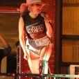 Lady Gaga surprend ses fans en donnant un concert dans un bar de New York le 20 octobre 2016.