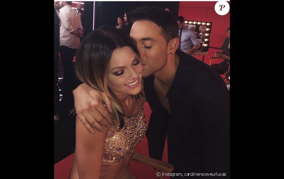 Caroline Receveur et Maxime Dereymez, sur Instagram, dimanche 23 octobre 2016
