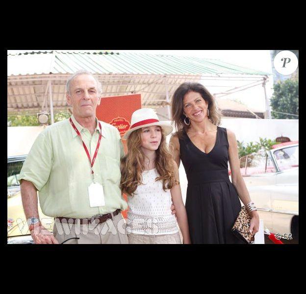 Mark Shand et sa famille il y a quelques jours à Bombay