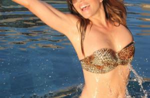 Elizabeth Hurley canon en bikini à 51 ans : Ses petites astuces pour être au top