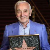 Charles Aznavour étoilé : À Los Angeles, le chanteur de 92 ans ému...