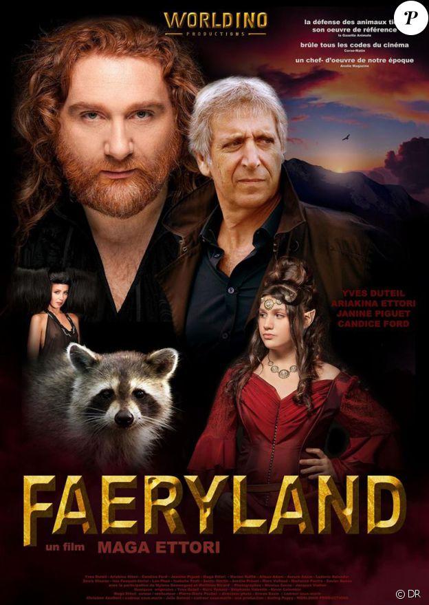 Affiche du film Faeryland en salles depuis le 21 septembre 2016