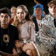 """Gigi Hadid et son compagnon Zayn Malik au défilé de mode prêt-à-porter printemps-été 2017 """"Givenchy"""" à Paris. Le 2 octobre 2016 © Olivier Borde / Bestimage"""