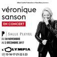 Véronique Sanson sera en concert dans toute la France à partir du mois de novembre 2016