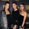Scarlet Rose Stallone, Sophia Rose Stallone, Sistine Rose Stallonelors de la soirée Hollywood Foreign Press Association And InStyle Celebrate The 2017 Golden Globe Award Season à Los Angeles, le 10 novembre 2016.