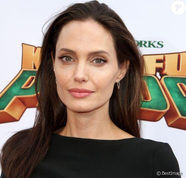 """Angelina Jolie - Célébrités lors la première de Kung Fu Panda 3 au théâtre """"TCL Chinese"""" de Hollywood le 16 janvier 2016.  Kung Fu Panda 3 Premiere held at The TCL Chinese Theatre in Hollywood on Junuary 16, 2016.16/01/2016 - Hollywood"""