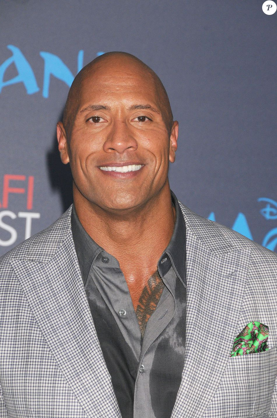 dwayne johnson premi re du film moana los angeles le 14 novembre 2016. Black Bedroom Furniture Sets. Home Design Ideas