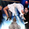 Exclusif - Baptiste Giabiconi et Vanessa Guide - 53e Gala de l'Union des artistes, mise en scène par Claude Lelouch au Cirque d'Hiver Bouglione, enregistré le 13 juin 2016. Diffusion sur France 2, le mardi22 novembre à 20h55. @Dominique Jacovides/Bestimage