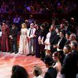 Exclusif - L'ensemble des artistes - 53e Gala de l'Union des artistes, mise en scène par Claude Lelouch au Cirque d'Hiver Bouglione, enregistré le 13 juin 2016. Diffusion sur France 2, le mardi22 novembre à 20h55. @Dominique Jacovides/Bestimage