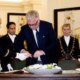 Le roi Albert II de Belgique et son épouse la reine Paola, la princesse Astrid et son mari le prince Lorenz, et le prince Laurent de Belgique (photo) étaient réunis le 15 novembre 2016 au Palais de la Nation à Bruxelles pour la cérémonie laïque de la Fête du Roi.