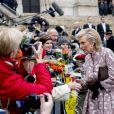 La princesse Astrid, le prince Lorenz - La famille royale de Belgique en la cathédrale Saints-Michel-et-Gudule de Bruxelles pour le Te Deum (Fête du Roi), le 15 novembre 2016.15/11/2016 - Bruxelles