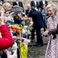La princesse Astrid - La famille royale de Belgique en la cathédrale Saints-Michel-et-Gudule de Bruxelles pour le Te Deum (Fête du Roi), le 15 novembre 2016.15/11/2016 - Bruxelles