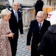 Le prince Lorenz, la princesse Astrid, le roi Albert, la reine Paola - La famille royale de Belgique en la cathédrale Saints-Michel-et-Gudule de Bruxelles pour le Te Deum (Fête du Roi), le 15 novembre 2016.15/11/2016 - Bruxelles