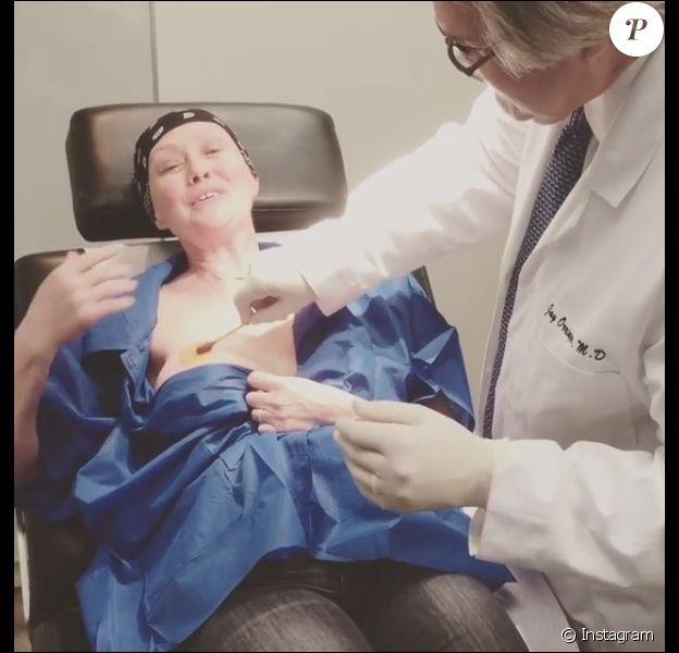 Shannen Doherty à l'hôpital le 17 novembre 2016