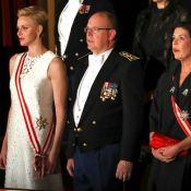 Charlene et Caroline de Monaco superbes auprès d'Albert pour conclure la fête