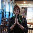 Exclusif - Caroline Ithurbide à la synagogue de la Griba de Djerba lors des 'Escapades des stars' le 11 Novembre 2016. © Denis Guignebourg / Bestimage