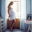 """Nicky Hilton affiche son baby bump au nom du """"Bump Day"""", qui a lieu aux Etats-Unis le 3 août."""