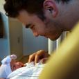 Kevin Jonas dévoile le visage de sa fille  Valentina Angelina sur Instagram. Photo Instagram postée en octobre 2016.