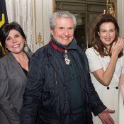 """Claude Lelouch : Emotion devant sa compagne et ses """"célèbres"""" amis"""