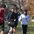 Nicolas Sarkozy et Carla Bruni en plein jogging à New York