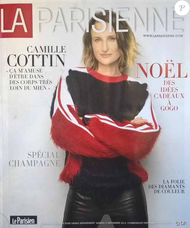 Le magazine La Parisienne du mois de décembre 2016