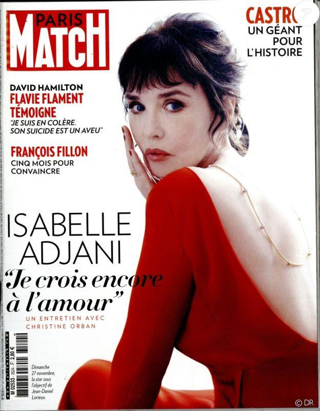 Le magazine Paris Match du 1er décembre 2016