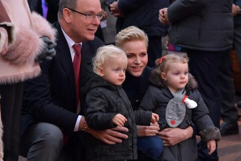 Charlene et Albert de Monaco : Avec Jacques et Gabriella au village de Noël