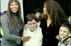 PHOTOS : Naomi Campbell... alors enceinte ou pas ? Elle a bien forci, la preuve en images !