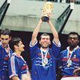 Equipe de France de la coupe du monde 1998, finale contre le Brésil le 13 juillet 1998