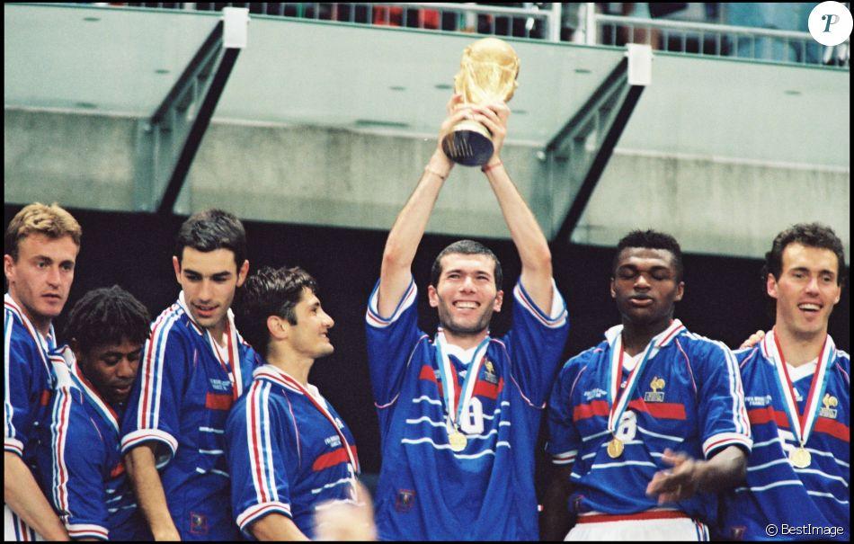 Equipe de france de la coupe du monde 1998 finale contre - Finale coupe du monde foot ...
