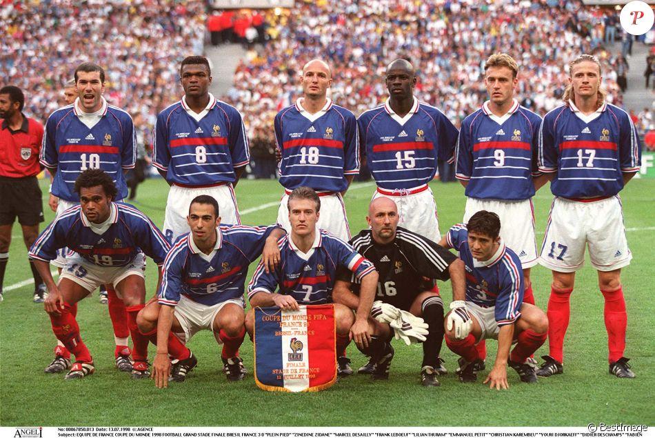 Equipe de france de la coupe du monde 1998 finale contre - Equipe de france 1982 coupe du monde ...