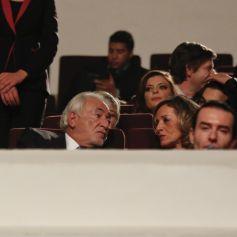 Dominique Strauss,Kahn (DSK) et sa compagne Myriam L\u0027Aouffir ,  Personnalités lors de l\u0027hommage à Paul Verhoeven pendant la 16ème édition  du Festival